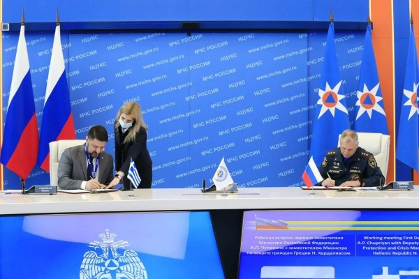 Hardalias in Moscow - Focus on strengthening Greek-Russian cooperation 7
